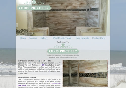 Crawfordville Website Design