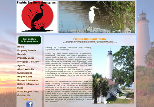 Leon County Website Design